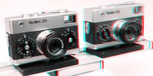 Rollei 35, ein Klassiker der Kleinbildfortografie  mit 40 mm Objektiv