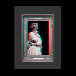 Das Stereobild im schwebenden Fenster