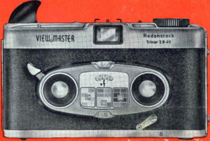 View-Mster Color Stereo Camera, Made in Germany (aus der Bedienungsanleitung)