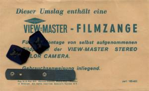 Die Filmzange  als notwendiges Werkzeug